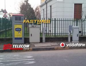 FTTC FTTS armadi di strada Telecom Vodafone E Fastweb a confronto